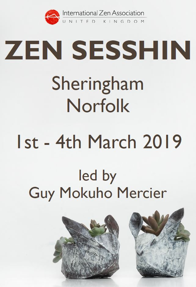 Zen Meditation Retreat (sesshin) in Sheringham with Guy Mercier